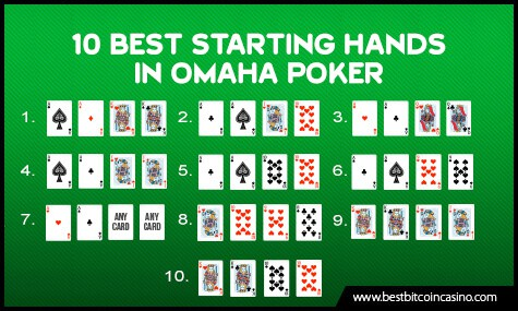 Omaha Poker Starting Hands
