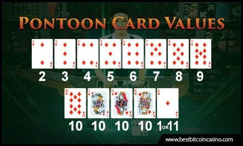 Pontoon Card Values