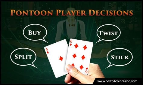 Pontoon Player Decisions
