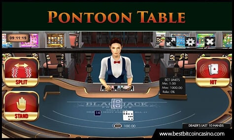 Pontoon Table