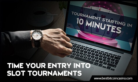 Time Your Entry into Slot Tournaments
