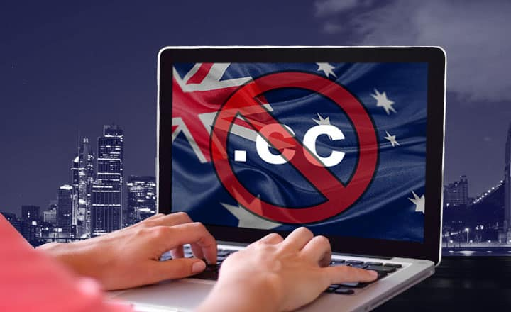 Gambling Sites Using .CC Domain to Face Scrutiny of Aussie Watchdog