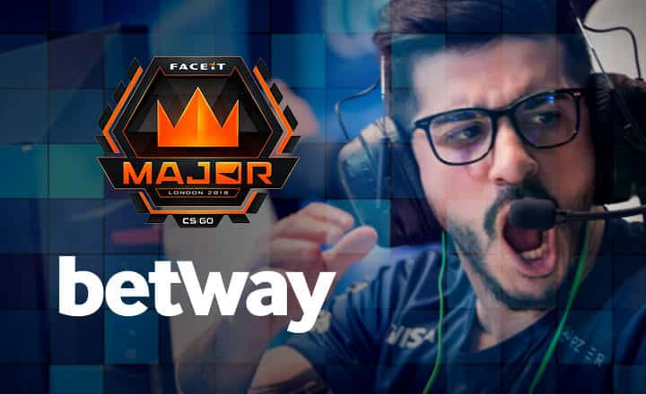 Betway Becomes Official Sponsor of the FACEIT CS:GO Major in London
