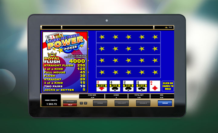 Video Poker Gameplay