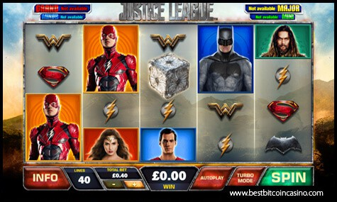 Playtech's Justice League Slot