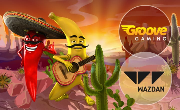 Groove Gaming to Offer More Than 100 Slot Games from Wazdan