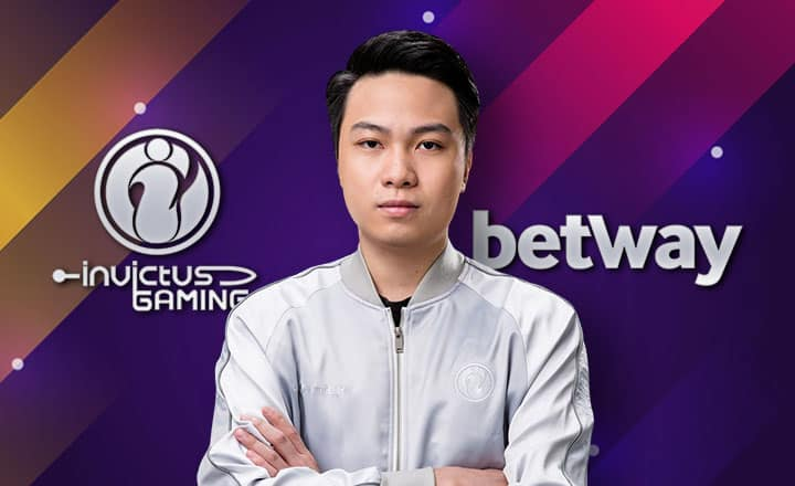 Betway to Sponsor TI8-Bound Invictus Gaming