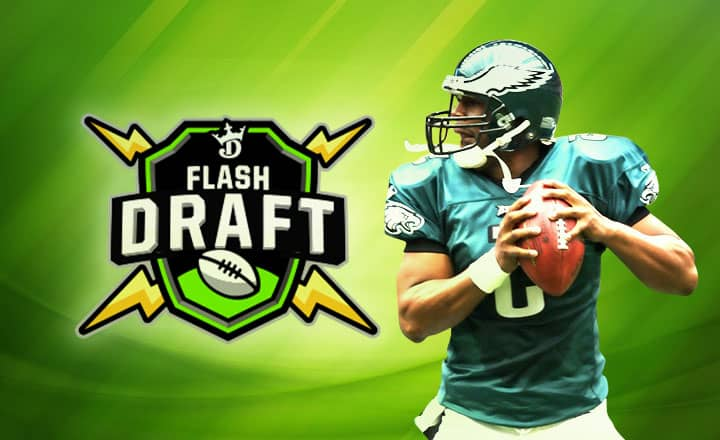 DraftKings' Flash Draft to Spice Up Football Season