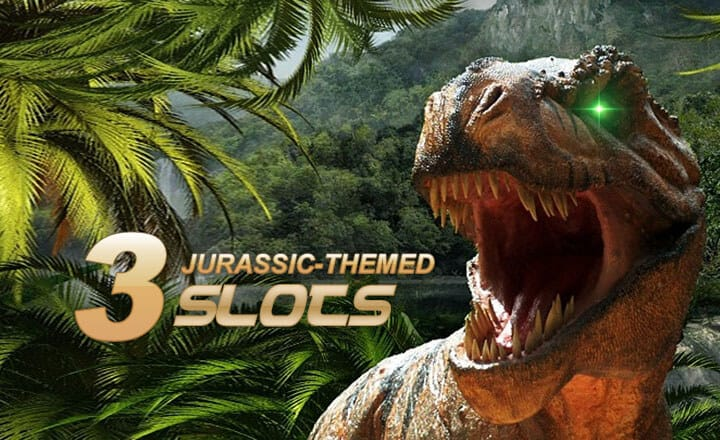 3 Jurassic-Themed Slots for Heart-Stopping Wins