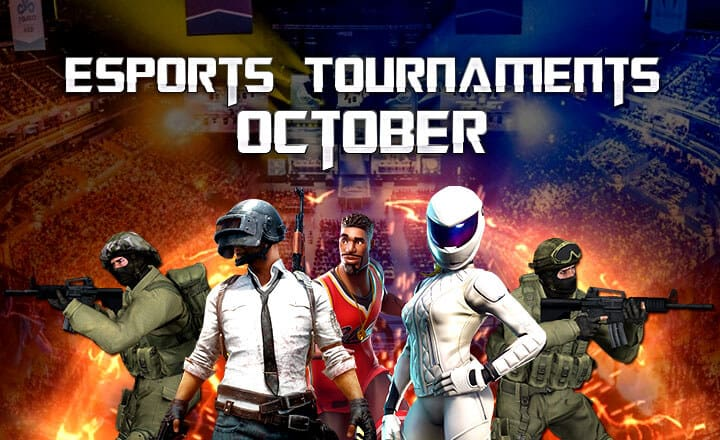 Fortnite Fall Skirmish and Other Highly Anticipated Esports Events this October