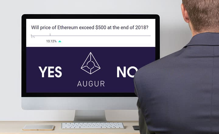 Will Ether (ETH) End 2018 above $500? and More Predictions on Crypto Betting Site Augur