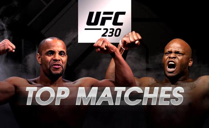 3 Devastating Knock-Outs from UFC 230 Fighters Cormier and Lewis