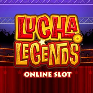 Lucha Legends Slot Logo