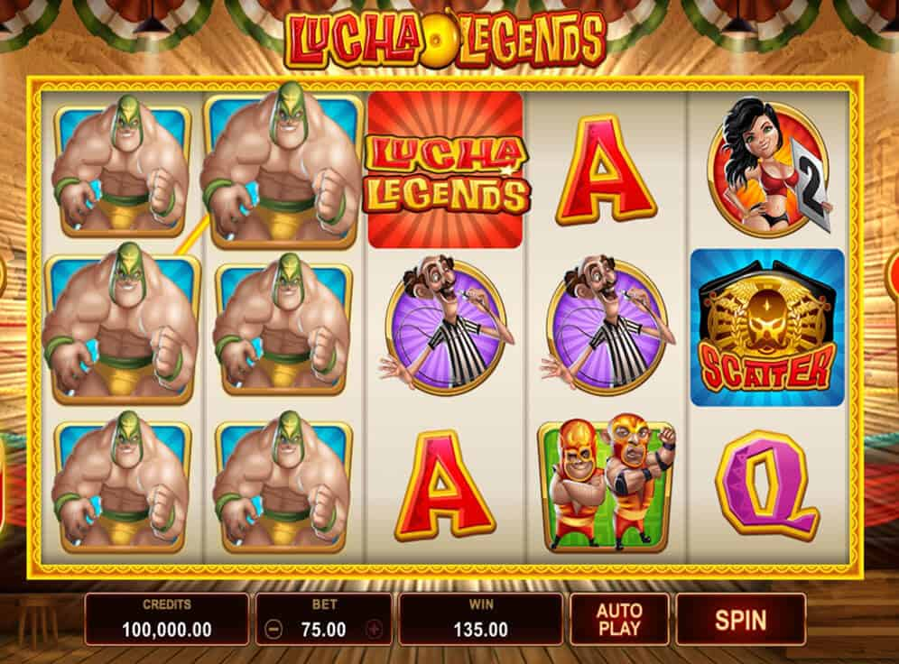 Lucha Legends Slot #3