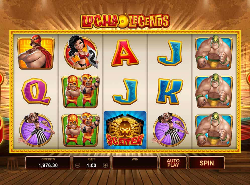 Lucha Legends Slot #1