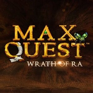 Max Quest: Wrath of Ra Slot Logo