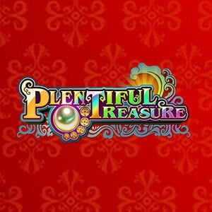 Plentiful Treasure Slot Logo