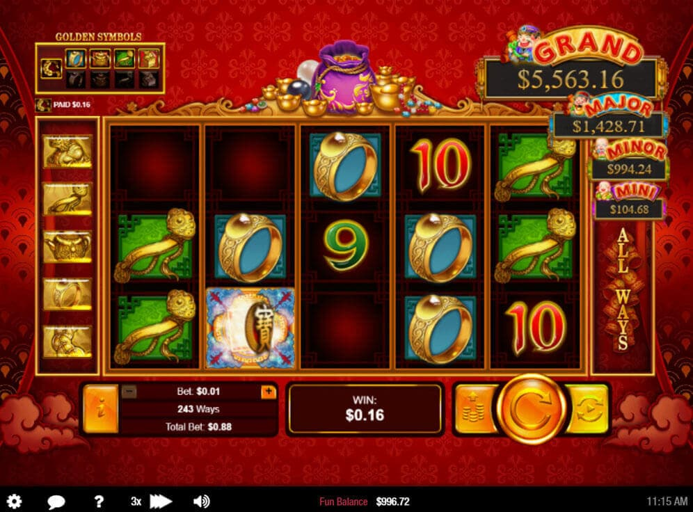 Plentiful Treasure Slot #1