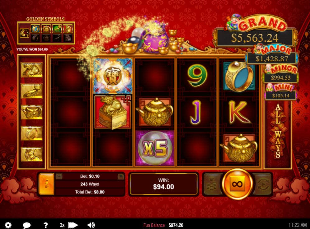 Plentiful Treasure Slot #3