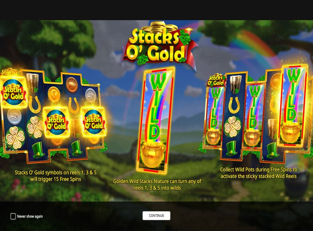 Stacks O' Gold Slot #3