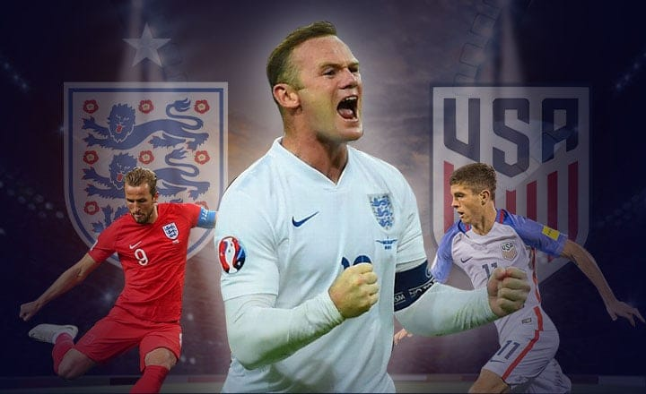 One More Time for Rooney as England faces United States at Wembley