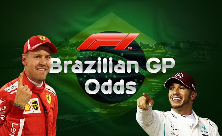 3 F1 2018 Brazilian GP Odds You Can Stake on in Online Sportsbooks