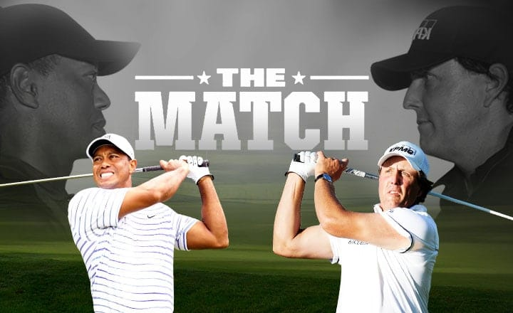 3 Exciting Odds in Store for The Match: Tiger vs. Phil Golf Showdown