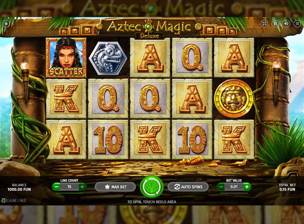 Aztec Magic Deluxe Slot #0