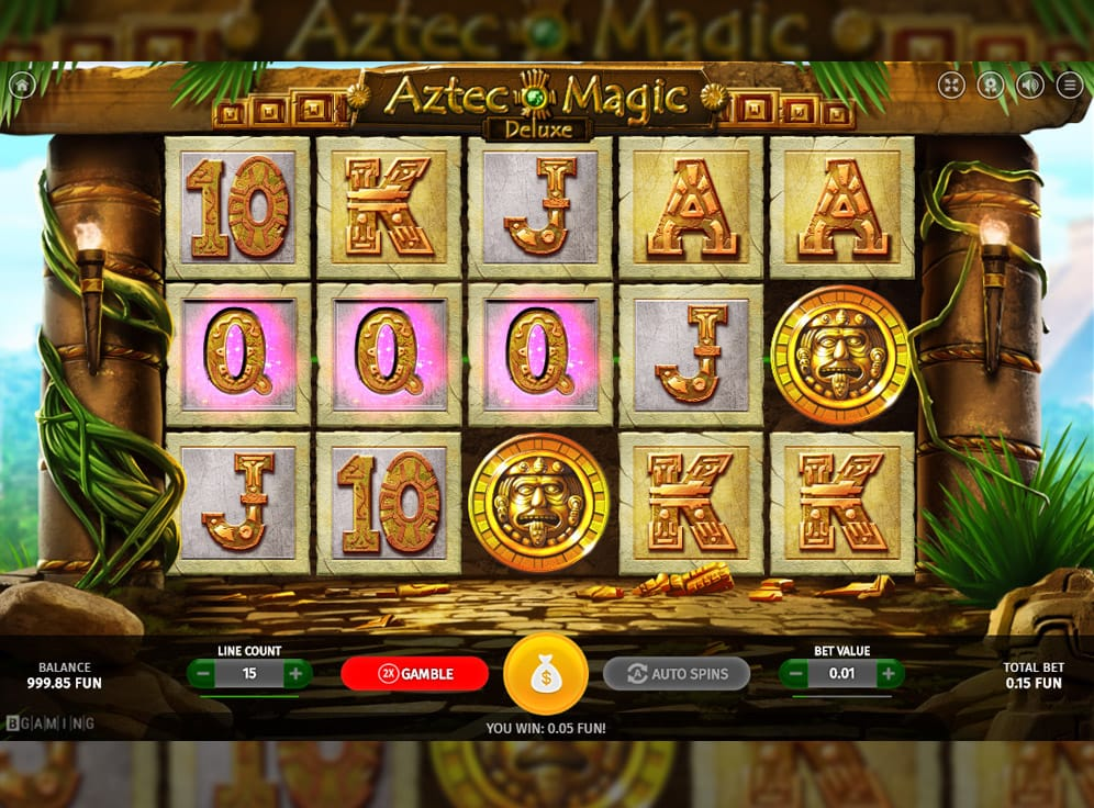 Aztec Magic Deluxe Slot #2