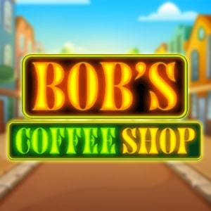 Bob's Coffee Shop Slot Logo