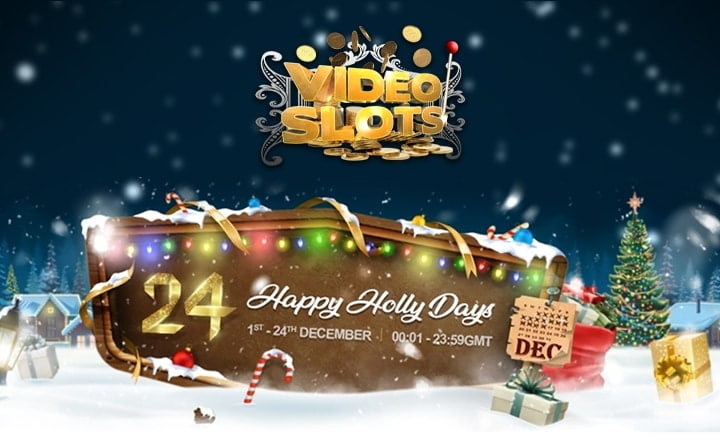 VideoSlots' 24 Days of Christmas