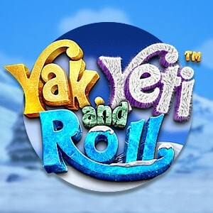 Yak Yeti and Roll Slot Logo