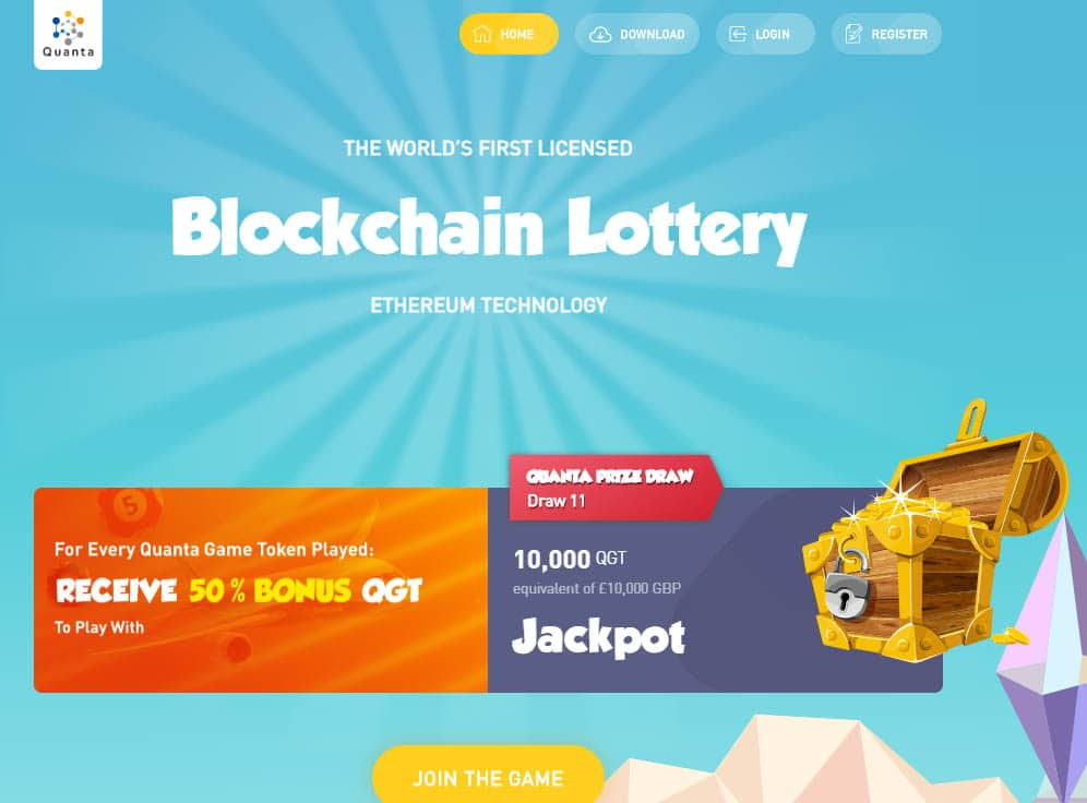 Quanta Lottery Screenshot
