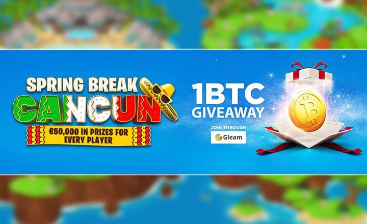 Luxury Trip to Cancun, €50,000 & 1 BTC up for Grabs on BitStarz