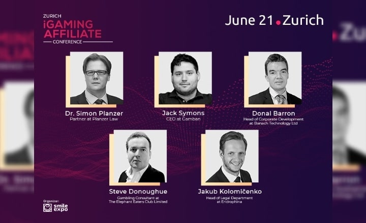 Legal Side of Gambling and Online Casinos Promotion: Top Experts Will Discuss at the First Zurich iGaming Affiliate Conference