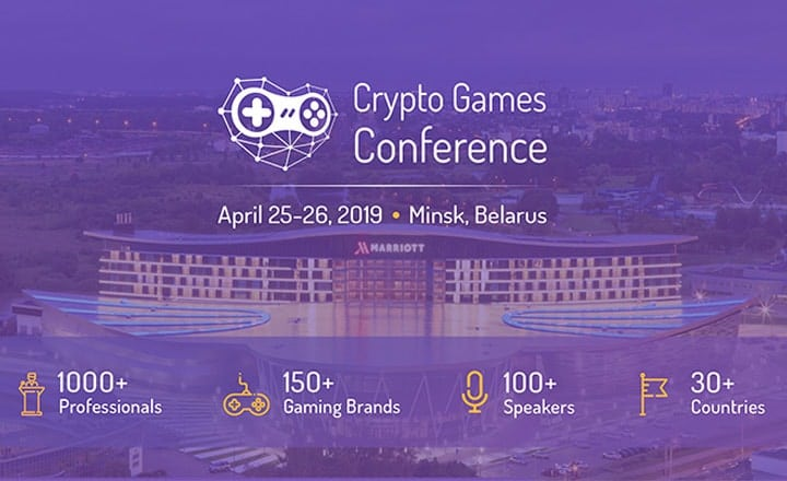 Successful Crypto Games Conference '19 Wraps up in Minsk