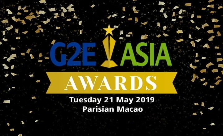 Official Nominees Named for 2019 G2E Asia Awards
