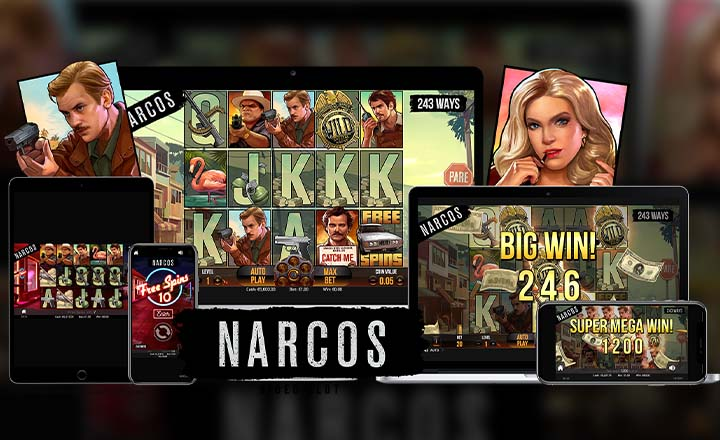 NetEnt Releases Much-Awaited Narcos Video Slot