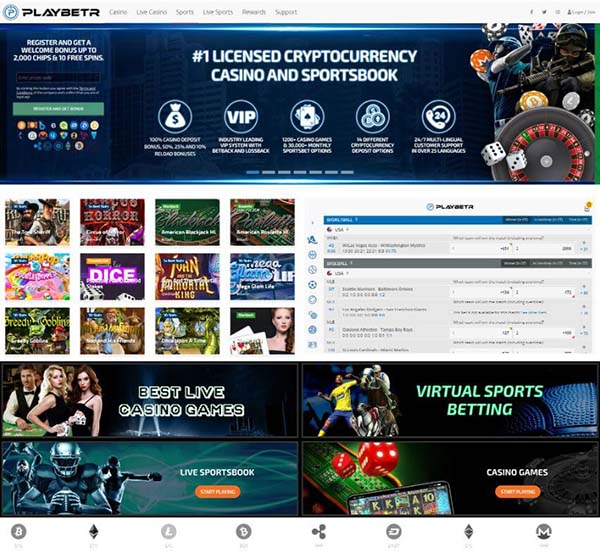 Playbetr Website