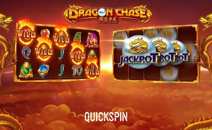 Quickspin's Dragon Chase Gives Away 4 Jackpots