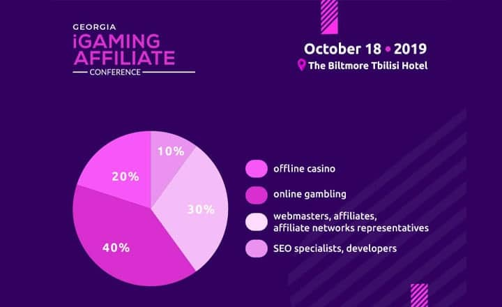 Who Will Attend Georgia iGaming Affiliate Conference? Honorable Participants of the Event (Infographics)