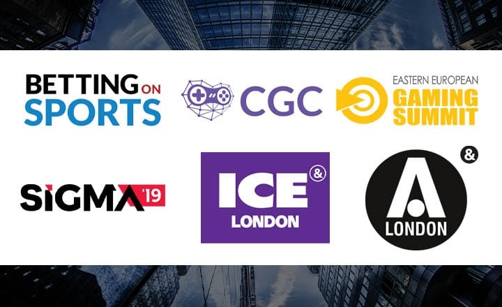 6 iGaming Events in 2019-2020 You Shouldn't Miss