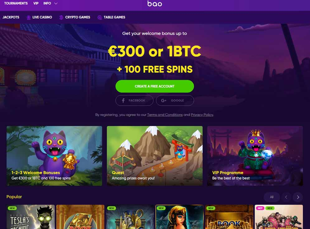 Bao Casino Screenshot