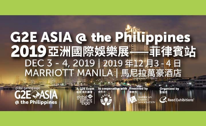 G2E Asia @ the Philippines 2019