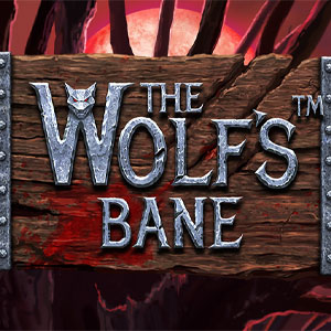 The Wolf's Bane Slot Logo
