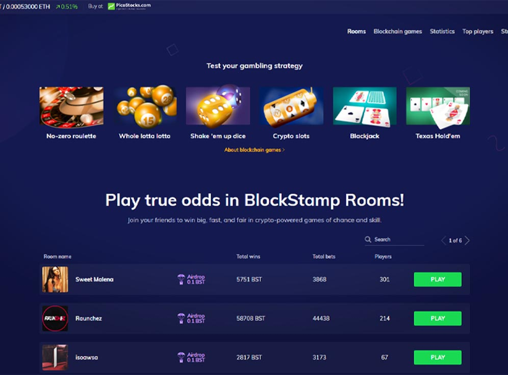 BlockStamp Games Screenshot