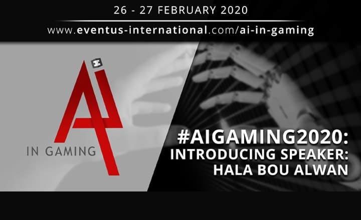 AI In Gaming 2020 Speaker Interview: Hala Bou Alwan, Founder and CEO, Hala Bou Alwan Consultancy