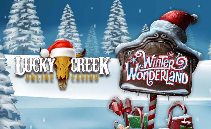 Winter Wonderland Opens on Lucky Creek Casino