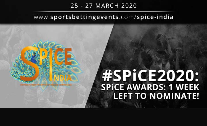 ONLY ONE WEEK to Submit Your Nominations for the SPiCE Awards 2020!