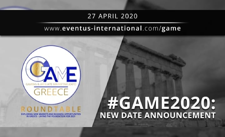 New Date Announcement: GAME (Gaming & Affiliate Marketing Expo) 2020